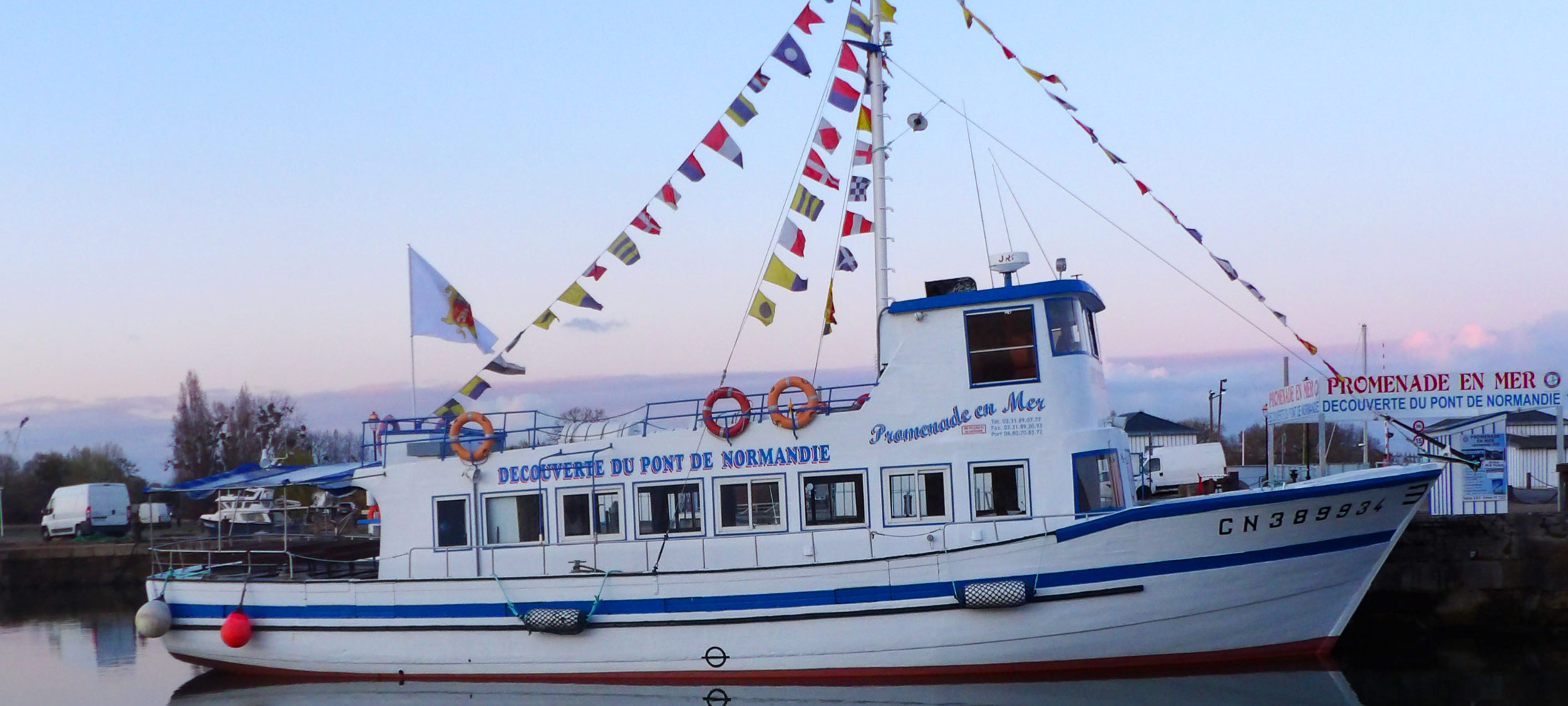 promenade bateau normandie